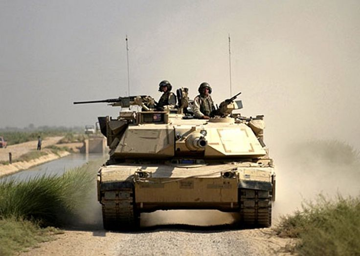 U.S.A. (1978) Main Battle Tank - 9000 built The American iconic MBT The M1 Abrams