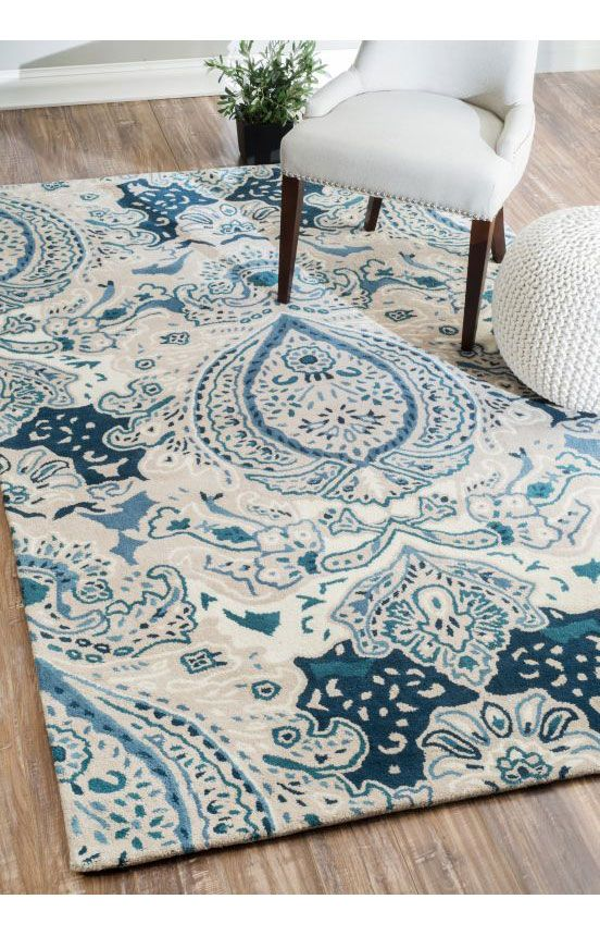 Rugs usa marquis lum41 damask turquoise rug rugs usa pre for Home decorators rugs sale