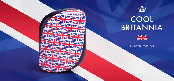 Tangle Teezer Compact Styler Cool Britannia.