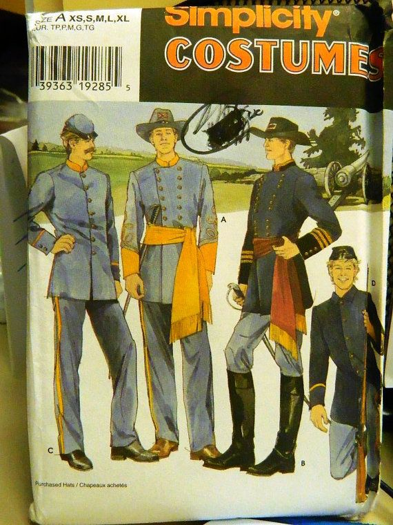 Civil War Uniform Pattern 76