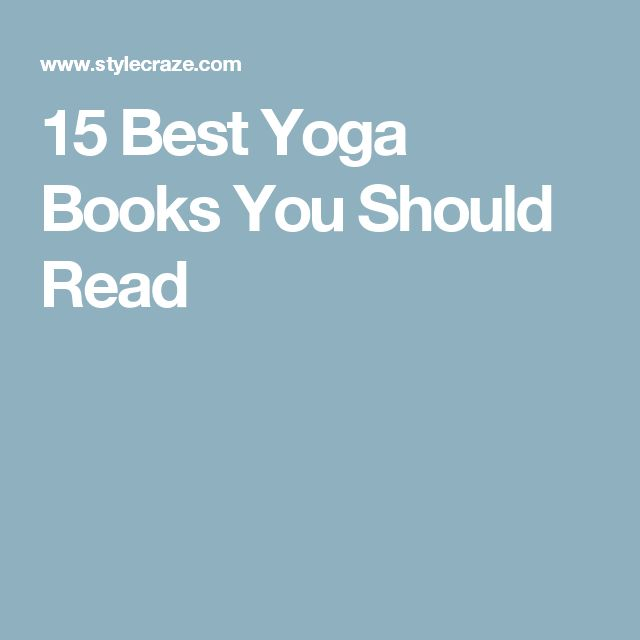 15 Best Yoga Books You Should Read