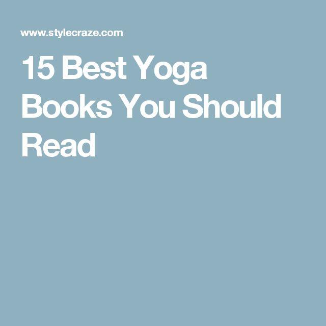 17 Best Ideas About Yoga Books On Pinterest