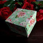 Cajas de Regalos(Lila / Verde,Papel de tarjeta) -Tema Clásico-Matrimonio / Aniversario / Despedida de Soltera / Baby Shower / Quinceañera 2016 - R$19.01