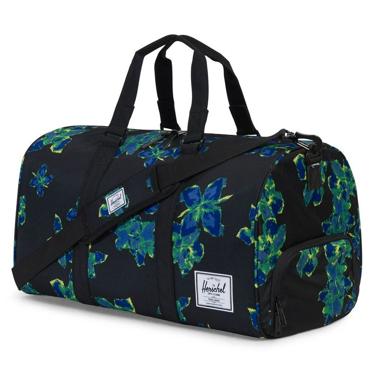 Novel Duffle Bag in Neon Floral by Herschel Supply Co. #$50-to-$100 #Accessories-Bags #Bag