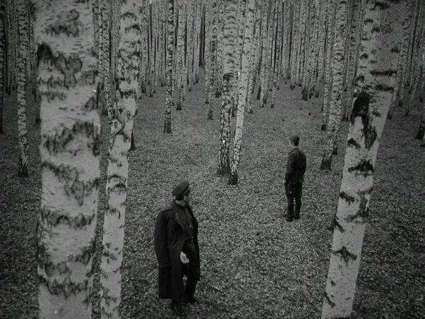 "Still from Andrei Tarkovsky's ""Ivan's Childhood"""