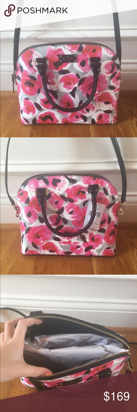 ❗️SALE❗️$359 Kate Spade Crossbody ❗️SALE❗️$359 Kate Spade Crossbody in carli grove street printed rose bed// brand new, perfect condition, never worn before kate spade Bags Crossbody Bags