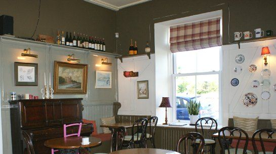 The bar at Wild Honey Inn, Lisdoonvarna, County Clare, Ireland