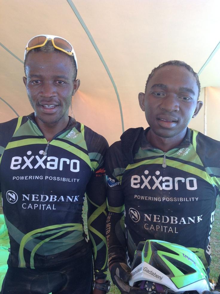 Siyabonga Njiva and Rilamulele Gadabeni