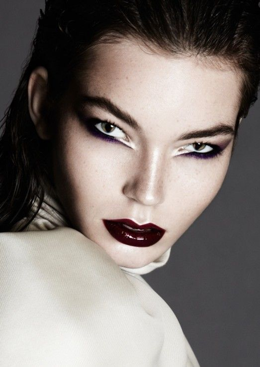 Factice Magazine Makeup: Beau Nelson  Photography: Lily & Lilac Hair: Cody Alain  Model: Gaby