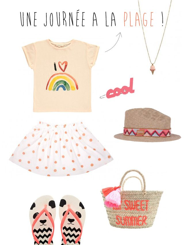 look plage fille