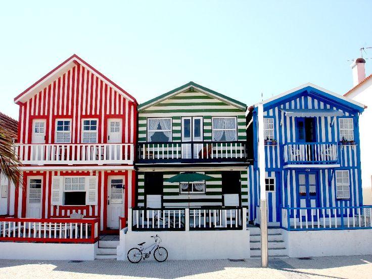 Costa Nova, Aveiro. Portugal