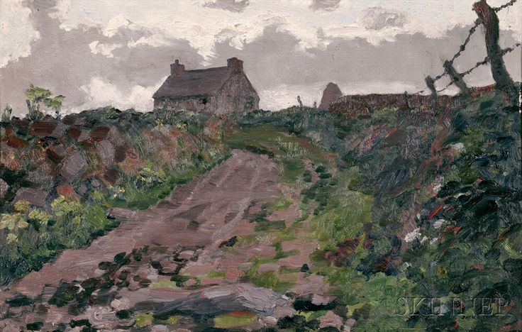 Jack Butler Yeats (Irish, 1871-1957) A Lane in Kerry | Sale Number 2655B, Lot Number 464 | Skinner Auctioneers