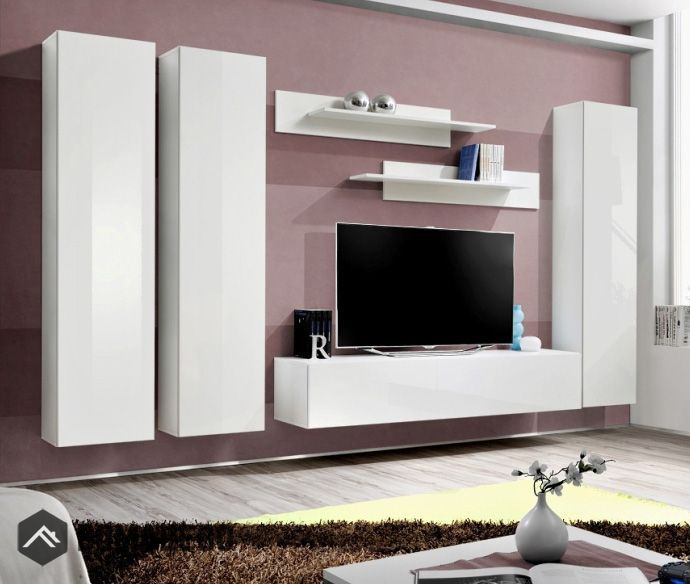 Idea D3 Affordable Entertainment Center For Living Room Wall