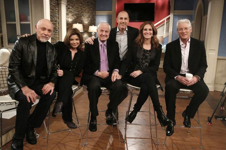 Pretty Woman cast reunite for 25th anniversary and reveal a Post-It note made the hit happen - Mirror Online