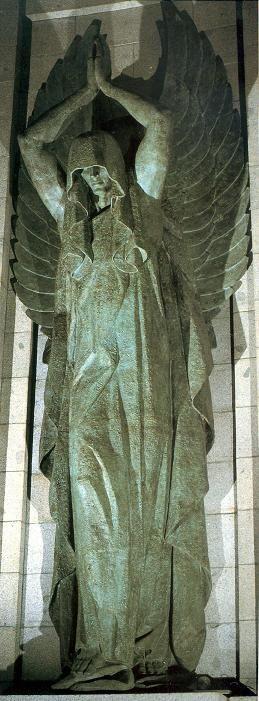Archangel Azrael - By Juan de Avalos. Valle de los Caidos.