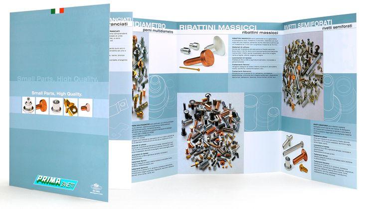 Prima Zanetti - Dépliant #design #brochure