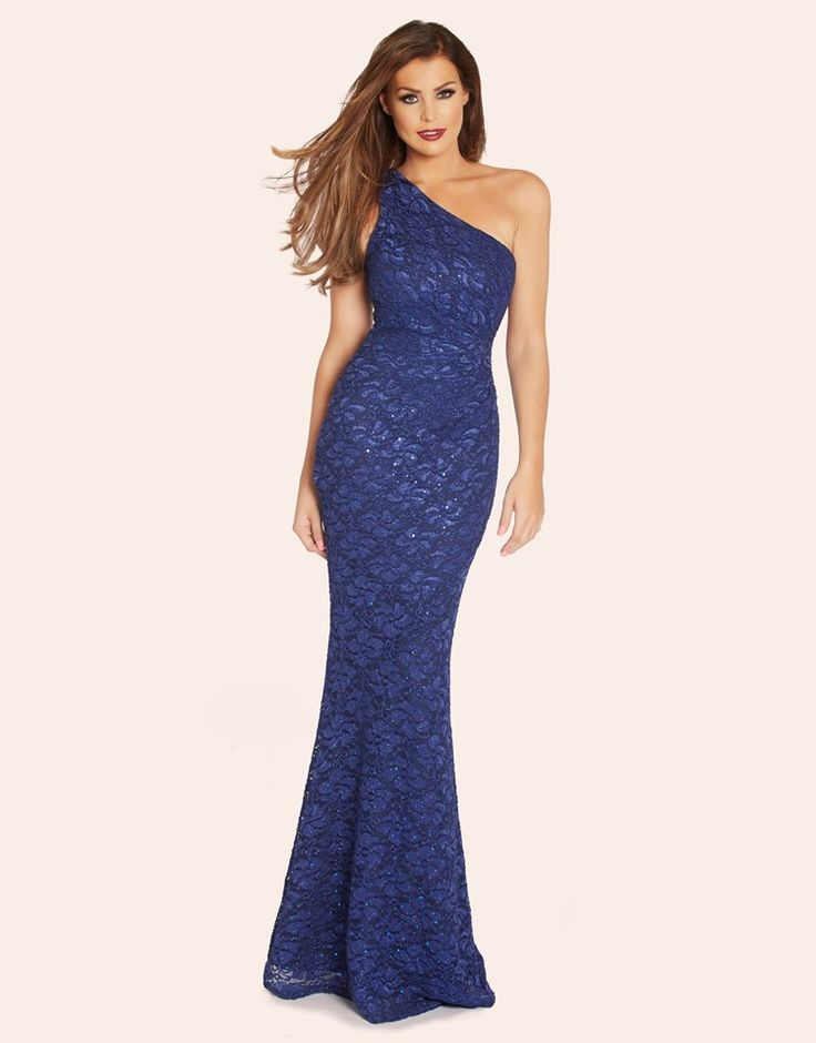 Jess Wright Sequin Lace Maxi Dress