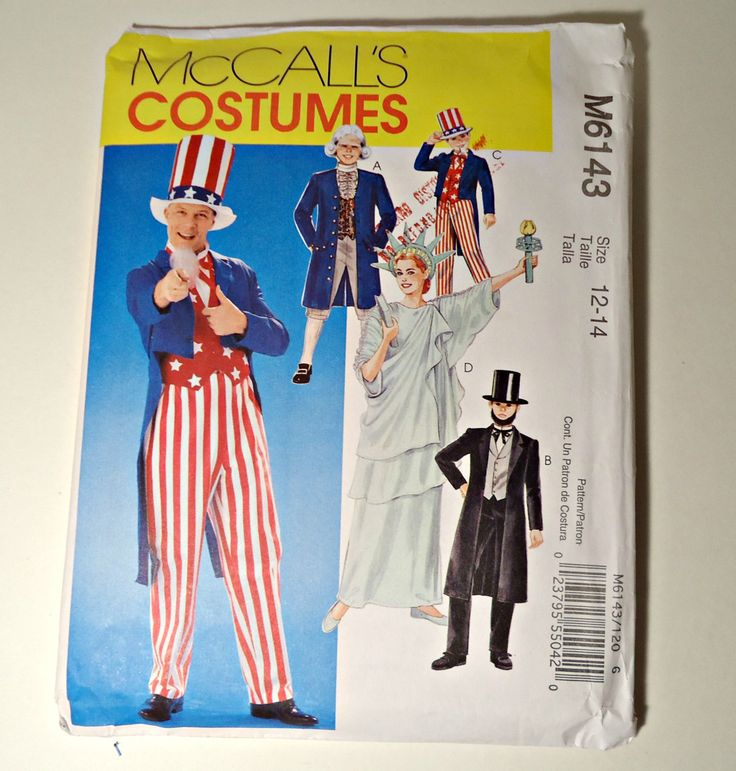 Sewing pattern of adult statue of liberty opinion