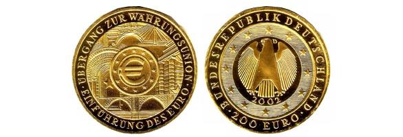 200 Euro Goldmünzen Ankauf @ www.Goldankauf-Dresden.com