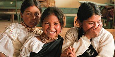niños indigenas ecuador - Buscar con Google