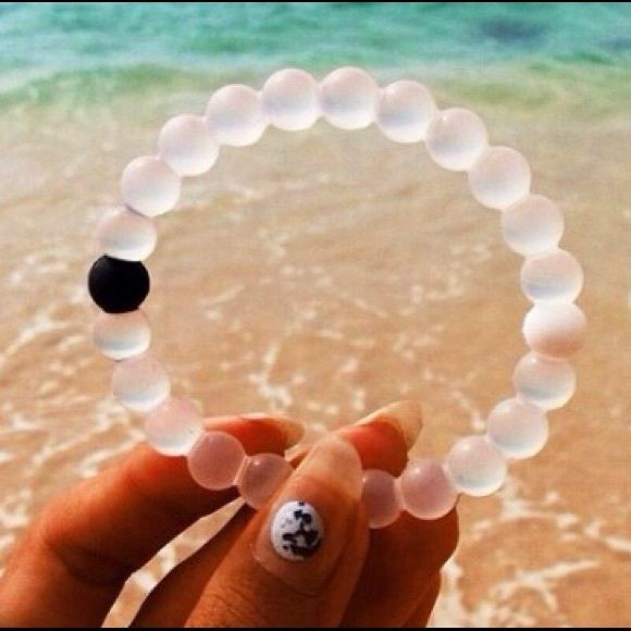 White Lokai Bracelet One White Lokai Bracelet in All Sizes S,M,L,XL. ‼️ Bundle Discount is Available✔️Buy More 3 or More and Get 15% Off Check My Closet For More Colors Lokai Jewelry Bracelets