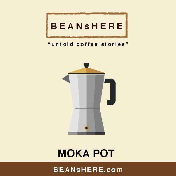 Moka Pot by BEANsHERE