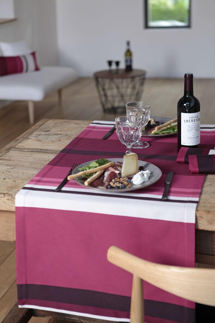 Chemin de table Pampelune Grand Cru >> www.jean-vier.com