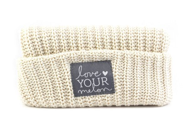 Love Your Melon Natural Cuffed Hat