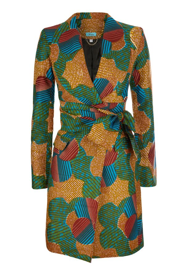 For Spring! :) A wrap dress with  just a tie and probable an ineer button for closure