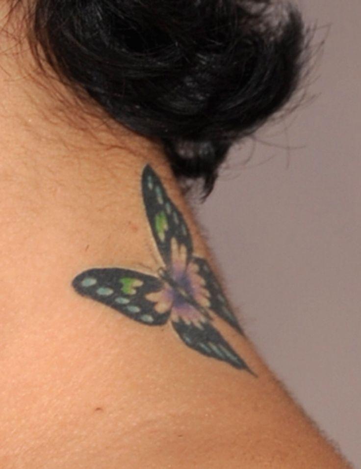 Vanessa Hudgens Butterfly Tattoo. I love this tattoo! Just want it smaller.
