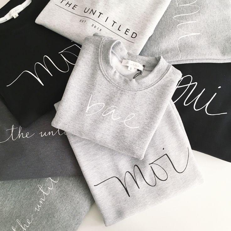 The Untitled Shop Sweatshirts #iwearmoi #theuntitledshop #dailylook #dailyoutfit #fashion #fashiondiaries #lookbook #mystyle #ootd #outfit #ootdwatch #style #stylegram #styleinspo #streetlook #streetstyle #streetfashion #wiwt #whatiwore #calligraphy #moderncalligraphy #sweatshirt #shoplocalvancouver #vancouver #vancity #vancouverisawesome