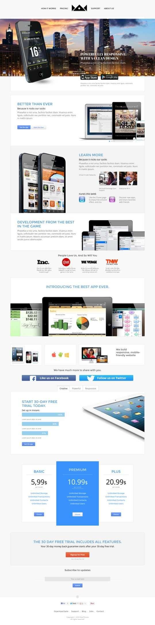 30+ Best WordPress Marketing / Corporate Themes & Templates. #best_wordpress_themes_2013