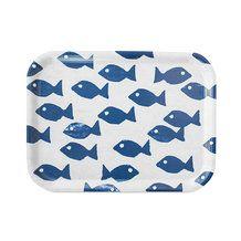 FISH TRAY, BLUE