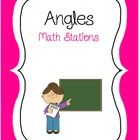 Print, laminate & cut out these cards for your Angles Math Station. Children must identify the types of angles, measure the angles and calculate the missing angle in a triangle.  These cards can also be used for early finishers.
