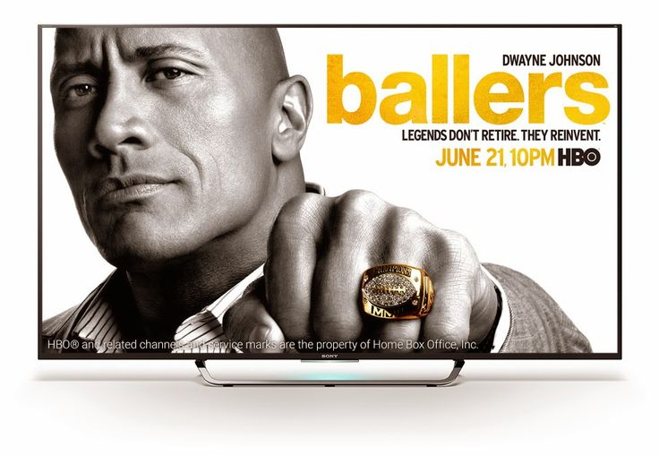 """Ballers (HBO-June 21, 2015) a TV Series created/written by Steve Levinson, directed by Peter Berg. Stars: Dwayne Johnson, Omar Benson Miller, Rob Corddry, John David Washington, Troy Garity, Donovan Carter, Jazmyn Simon, Taylor Cole, LeToya Luckett, Carmelo """"Q"""" Oquendo, Ella Thomas, and Sanai L. Johnson. Exec. Producers: Mark Walberg, Evan Reilly, Peter Berg, Rob Weiss, Danny Garcia. A former pro football player--turned-financial Adviser for current players."""
