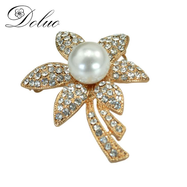 Cheap crystal brooch, Buy Quality brooch with pearl directly from China popular brooch Suppliers: Popular Crystal brooch with big pearl Jewelry for Women gift wedding acccessories Jewelry