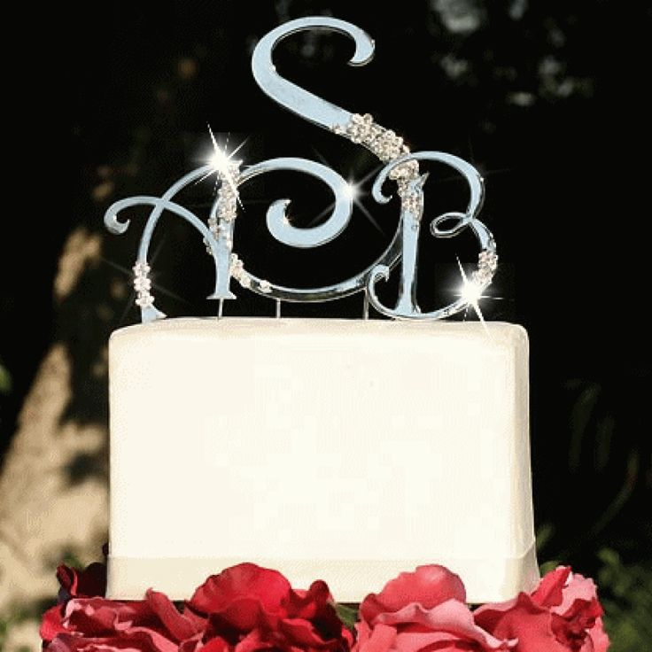 monogram wedding cake toppers michaels 21 best flower and ring bearers images on 17526