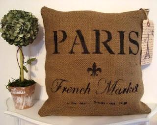 Paris Pillow  - Ooh La La!