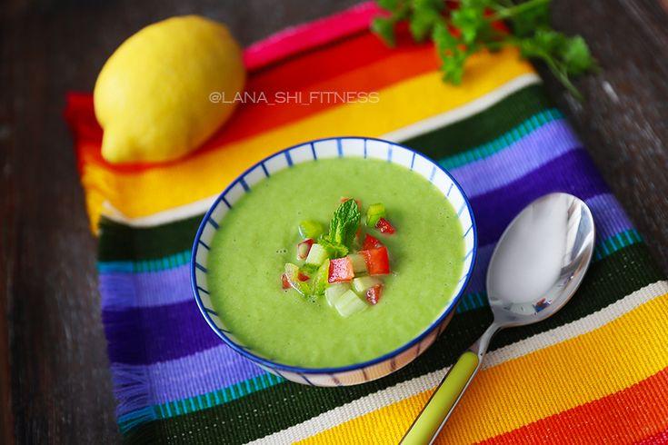 Огуречный суп или зелёный гаспачо! Детокс-рецепт!