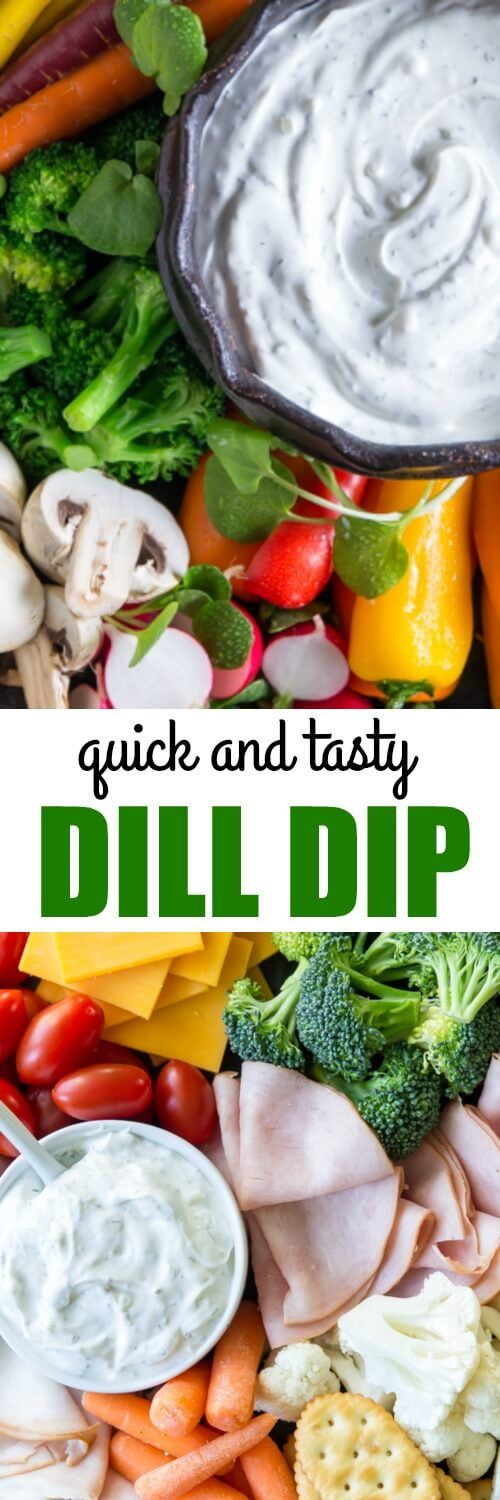 An easy Dill Dip to make for all your parties from here on out! This classic version tastes even better when you make it at least a day in advance, too.