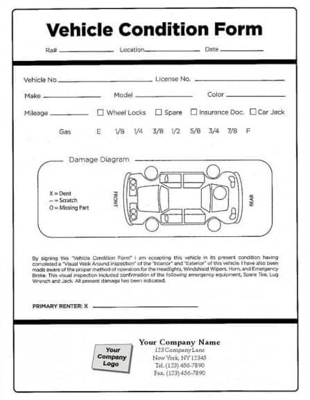 Vehicle Condition Report Template Vehicle Condition Report Template Will Be A Thing Of The P Words Report Template Word Template