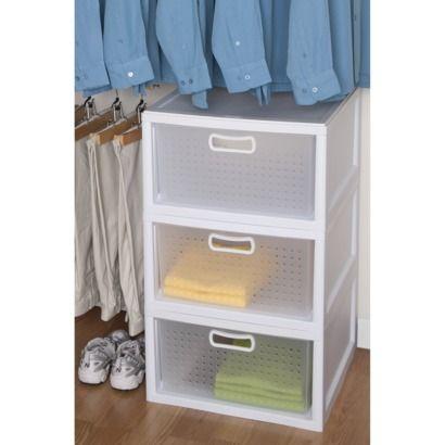 Sterilite Deep Closet Drawer Closet Drawers Deep Closet