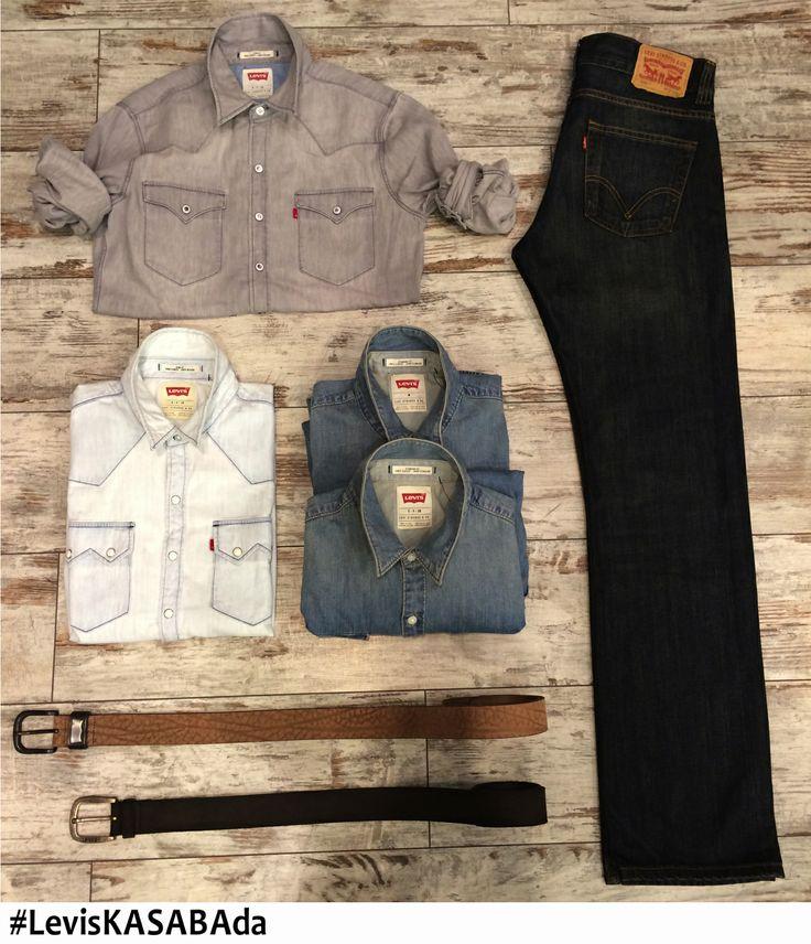 Jean gömleğiniz ne renk olursa olsun siyah jeanlerinizle kombinlemek,  her zaman moda her zaman cool..  Tüm erkek ve kadın siyah #Levis kot pantolonları, Kasaba Jeans Gallery ve Kasaba Mağazalarında..  #jean #denim #kot #jeangömlek #jeangomlek #denimgömlek #denimgomlek #kotgömlek #kotgomlek #jeanshirt #denimshirt #erkekmodası #erkekmodasi #mensfashion #menfashion #fashion #moda #ilkbahar #spring #ilkbaharmodası #ilkbaharmodasi #springfashion @Levi's®