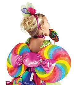 candy fairy wings-(-wings are pretty cute, but I suppose regular fairy wings would work, too-L)