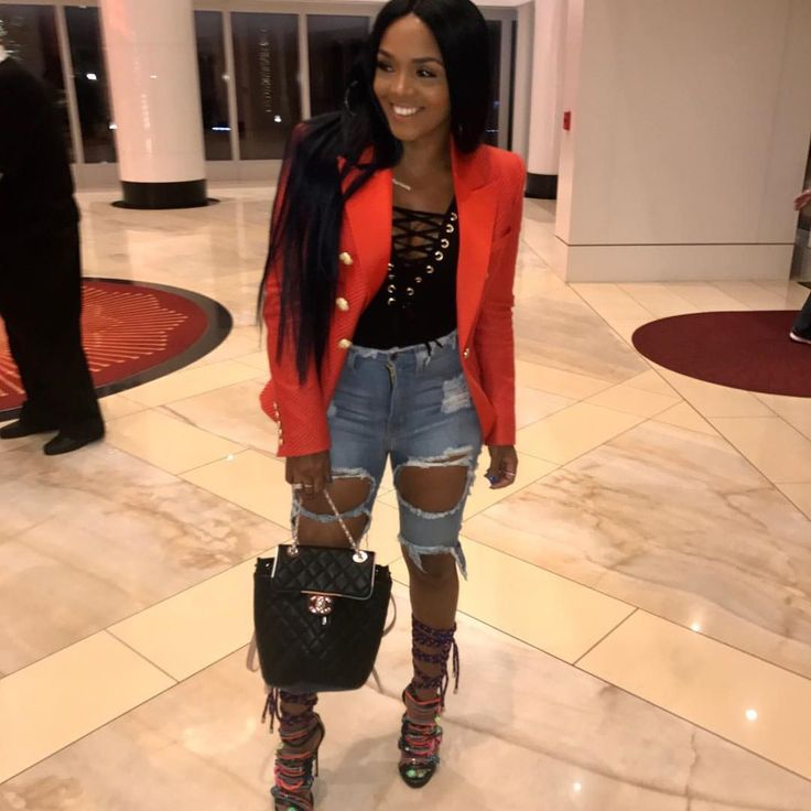 Biloxi what's good!! Headed to Level night club..... Bodysuit & Bermudas from @pressedatl jacket #balmain ...bag #chanel .....shoes #dsquared ✌🏽  via ✨ @padgram ✨(http://dl.padgram.com)