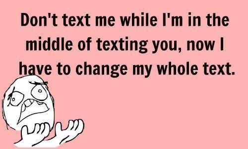 That is so true.  I hate when people do that!!!!  I usually just add a dash and change the subject so it's their problem. :D