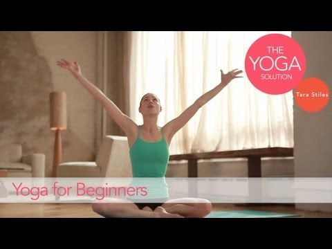 Yoga Routine for Beginners | The Yoga Solution With Tara Stiles #yoga #video    http://www.livestrong.com/original-videos/_xPRVCqqgTY-yoga-solution-tara-stiles-yoga-routine-beginners/