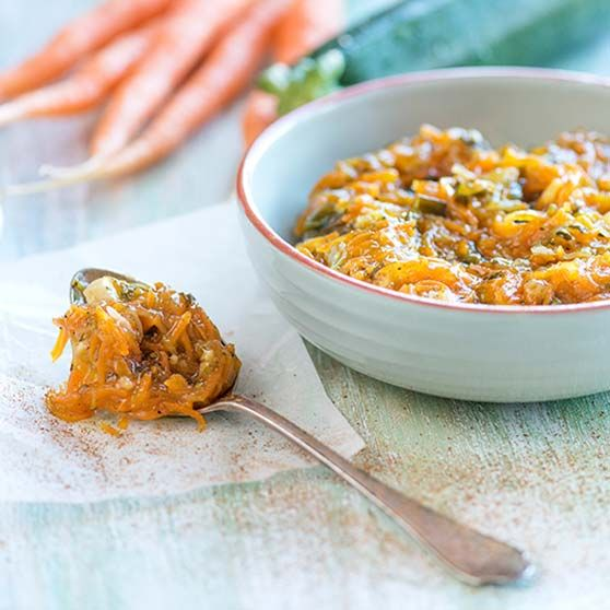 Kesäkurpitsa-porkkanachutney - Reseptejä