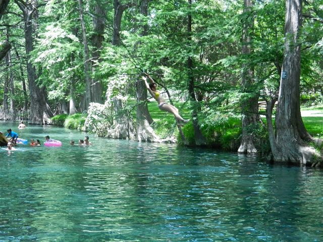 The Blue Hole. Wimberly, TX