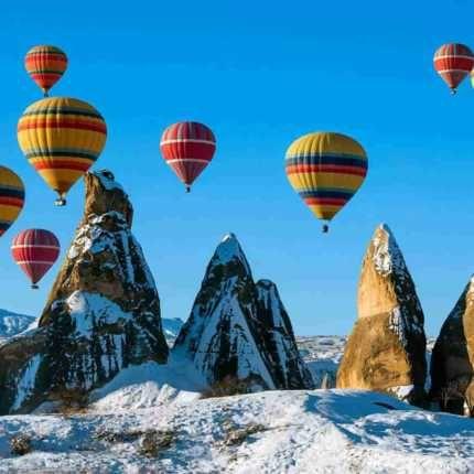 الرحلات السياحية في كابادوكيا Hot Air Balloon Rides Air Balloon Rides Balloon Rides